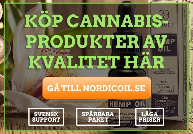 CBD olja från Nordic Oil